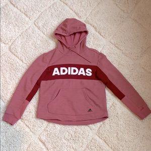 Adidas Women's Heather Red Sweatshirt